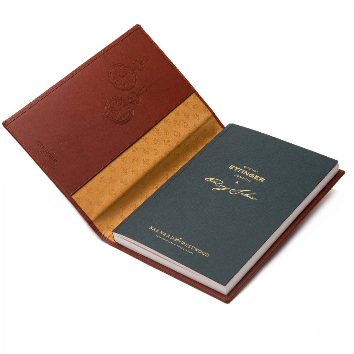 LIMITED EDITION ETTINGER X RORY DOBNER LEATHER COVERED NOTEBOOK