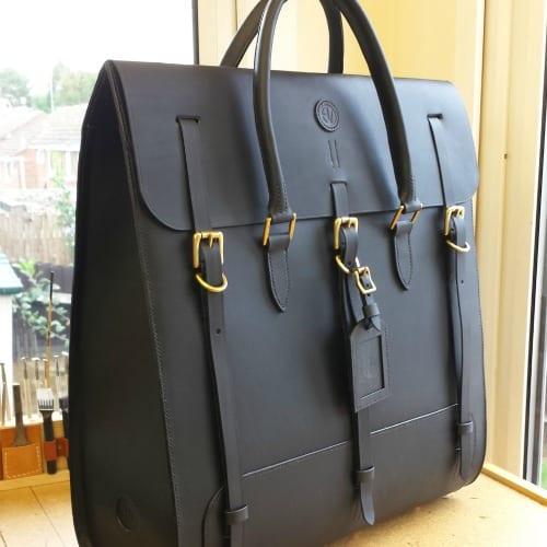 Gizzi Black Weekender Bag