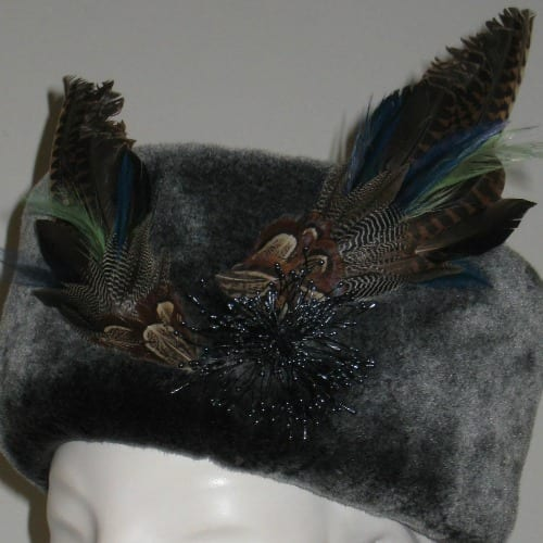 Lai Symes, shotgun hat