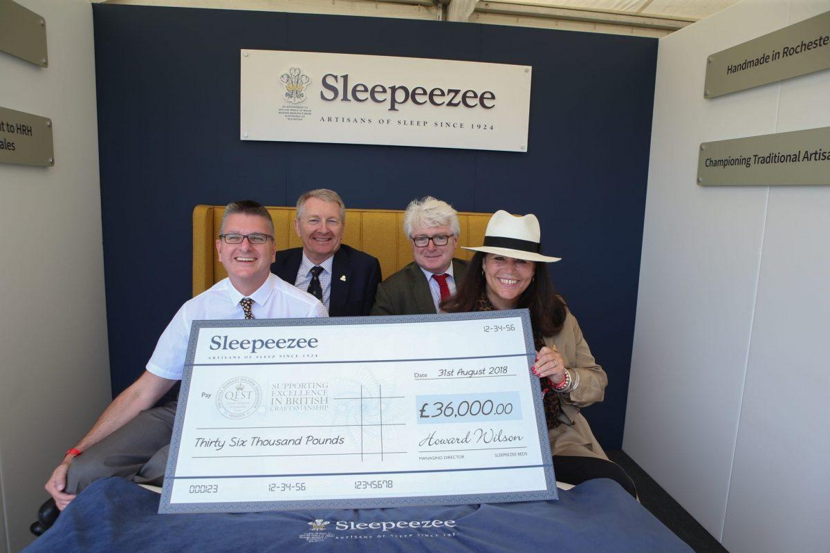 sleepeezee donation