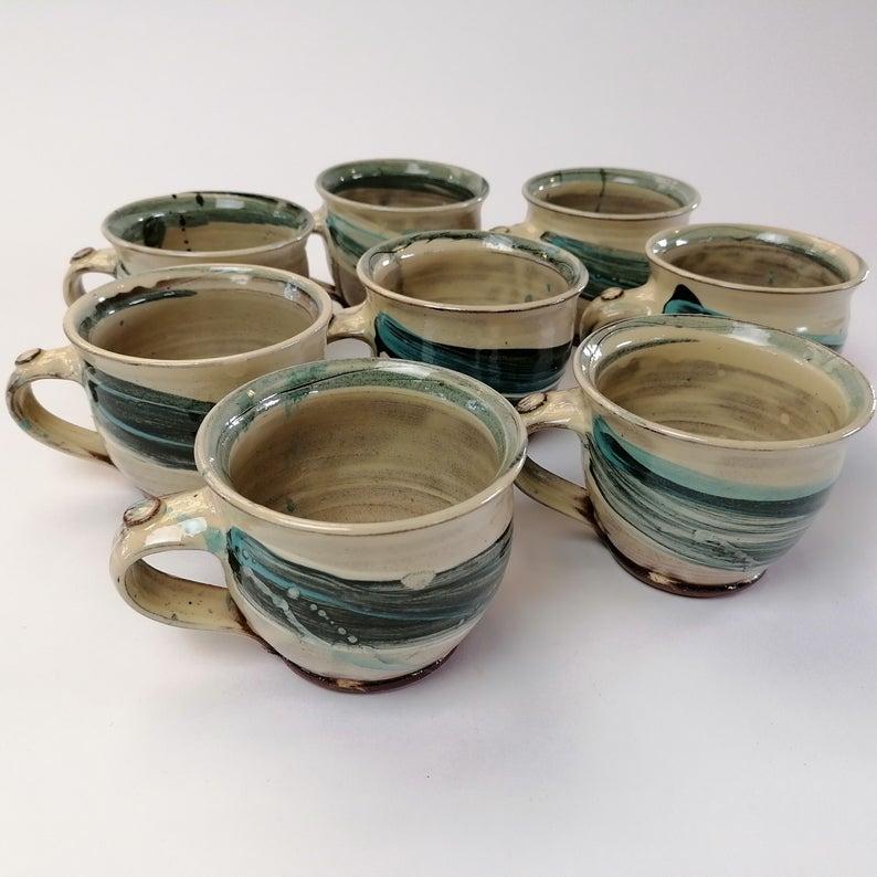 Handmade espresso cups