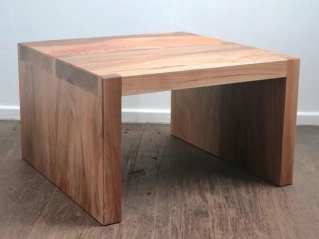handmade coffee table walnut